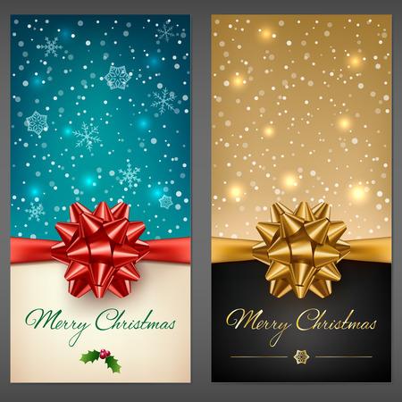 Christmas greeting cards Illustration