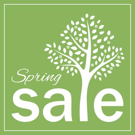 Spring sale blossom tree design