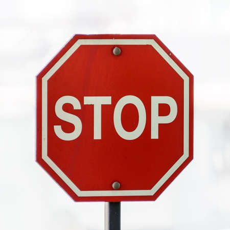 urban area: Stop Sign