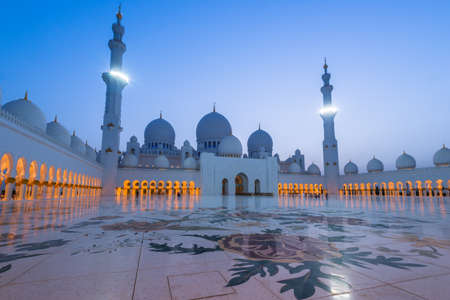 Sheikh Zayed Grand Mosque, Abu Dhabi photo
