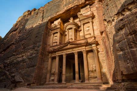 Treasury at Petra, Jordan photo