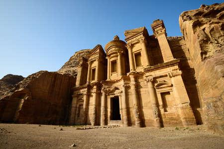 musa: Monastery at Petra, Jordan