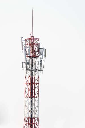 Cell Phone Tower Banco de Imagens