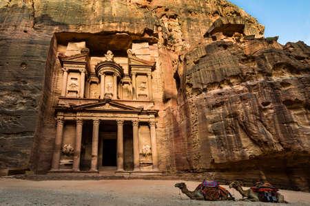 khazneh: Treasury at Petra, Jordan