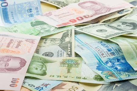 Various Banknotes photo