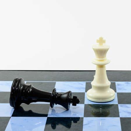 White king win black king chess