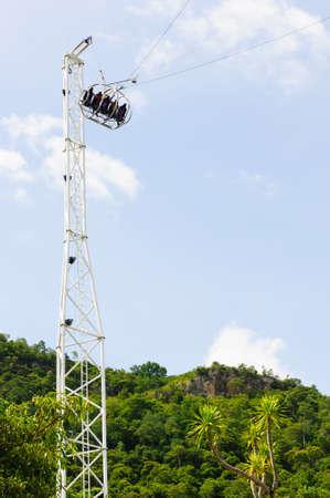 reverse: Reverse Bungee tower