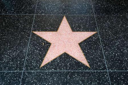 Estrella de Hollywood  Foto de archivo