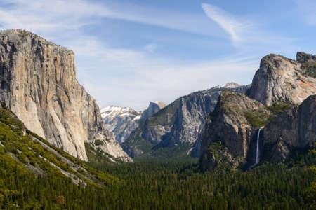 Tunnel view, Yosemite National Park photo