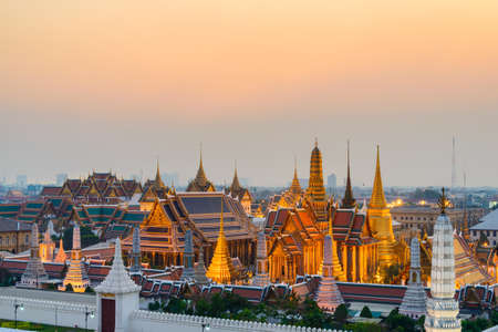 temple tower: Grand Palace, Bangkok, Thailand