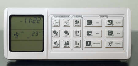 Panel control in hotel room