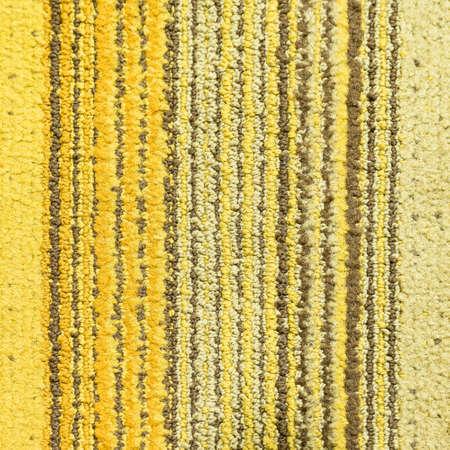 Yellow Stripe Carpet