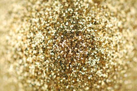 glint: Fondo abstracto de oro brilla en cada lado de la borrosa
