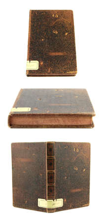 Old book isolated on a white background Stock Photo - 10801357