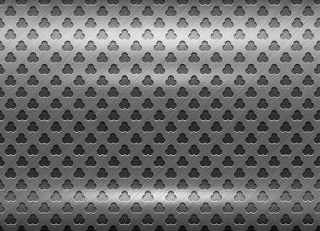 netty: Textura pulida rejilla de metal. Resumen de antecedentes.