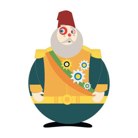 comandante: Pasha Ottoman