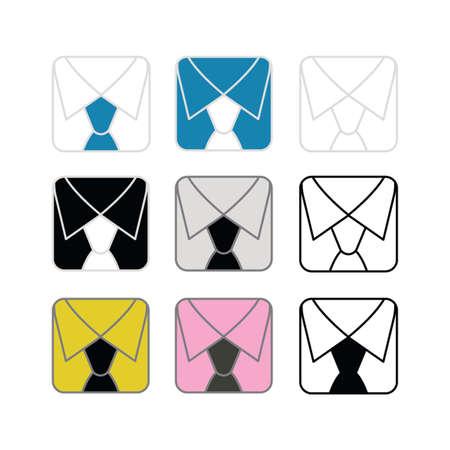 collar colours Stock Vector - 10734226