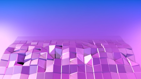 Low poly abstract background with modern gradient colors.