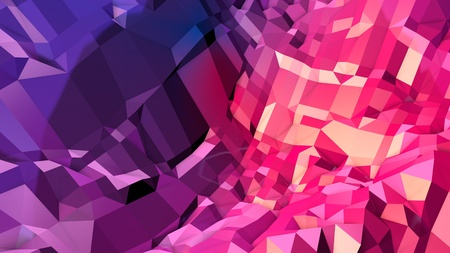 3d low poly abstract geometric background with modern gradient colors. 3d surface blue red violet gradient colors. 9 版權商用圖片