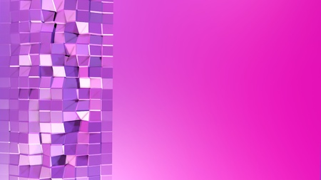 3d low poly abstract geometric background with modern gradient colors. 3d surface blue red violet gradient colors. 18 Imagens