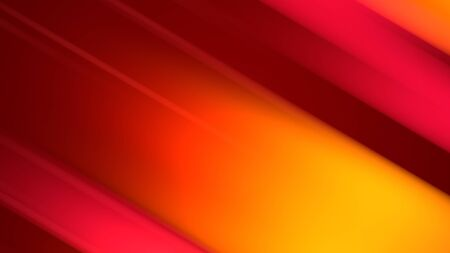 3d rendering of abstract background with red orange yellow twisted gradient of colors. beautiful mixing colors of paint curved lines on a plane Zdjęcie Seryjne