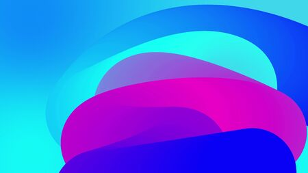 beautiful gradients with shades of blue purple along elegantly twisted line or pipe. Beautiful modern design background of liquid Zdjęcie Seryjne