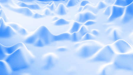 3d rendering. Stylish blue white creative abstract low poly background. Stockfoto - 154584690