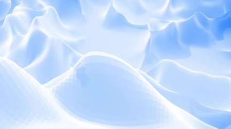 3d rendering. Stylish blue white creative abstract low poly background. Stockfoto - 154584797