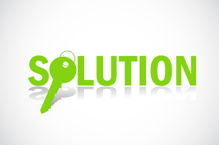 Finding solution Stock Vector - 7865734
