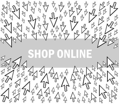 Webshop-shop online Stock Vector - 11660330