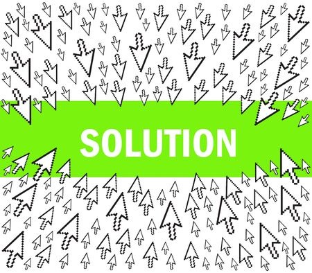Solution Stock Vector - 11660309