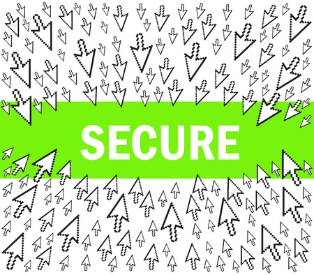 Internet Security Stock Vector - 11660310
