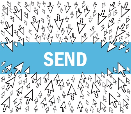 send e-mail Vector
