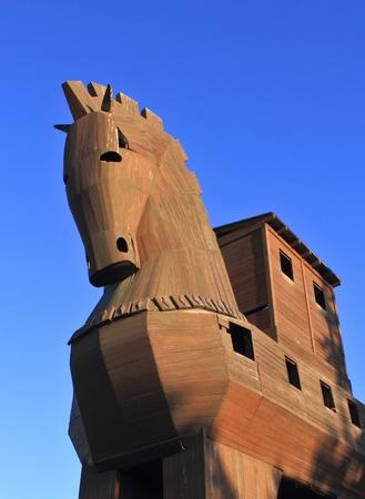 cavallo di troia: Trojan Horse Archivio Fotografico