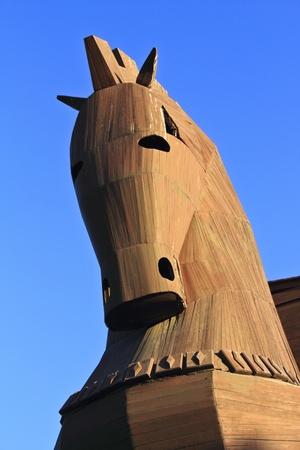 trojan horse: Trojan Horse Stock Photo