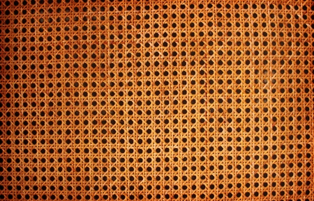 interlace: Detail of Wicker Texture