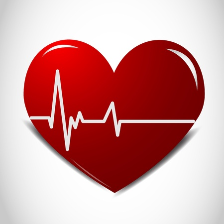 Heartbeat Stock Vector - 11743425