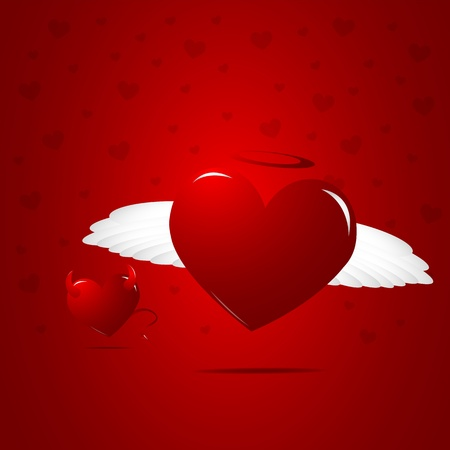 Good heart Vector