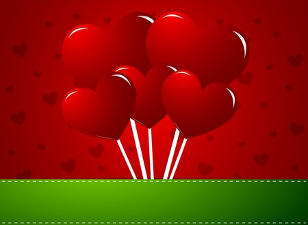 Heart Lollipops Vector