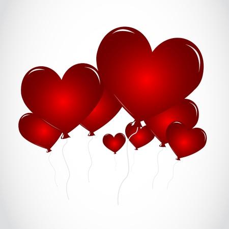 february 14: Heart Balloons