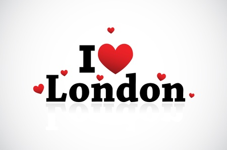 I love London icon Stock Vector - 11849390