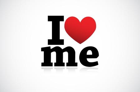 I Love me icon