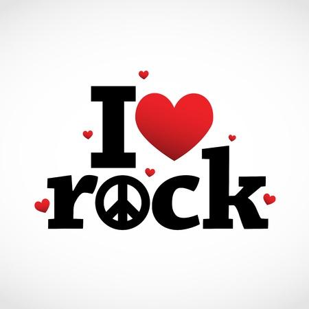 peace symbols: Rock icon
