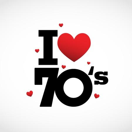 anni settanta: Settanta icon
