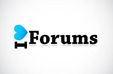 Social Media Forums Stock Vector - 11849385