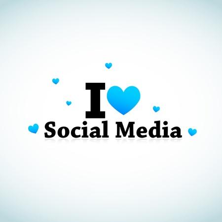 Social Media Stock Vector - 11849406