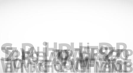 lyrics: Abstract Alphabet Background