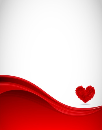 Valentine's day vector background Vector