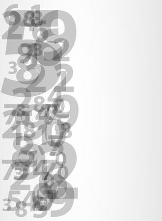 cyfra: Streszczenie numery Ilustracja