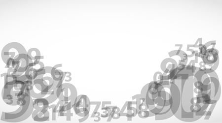 Abstract Numbers 2 Vector